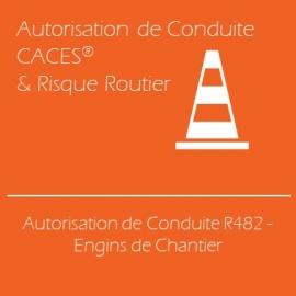 Autorisation de Conduite R482 - Engins de Chantier