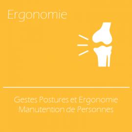 Gestes Postures et Ergonomie - Manutention de Personnes