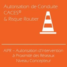 AIPR, Attestation d'Intervention à Proximité des Réseaux - Niveau Concepteur (Examen inclus)