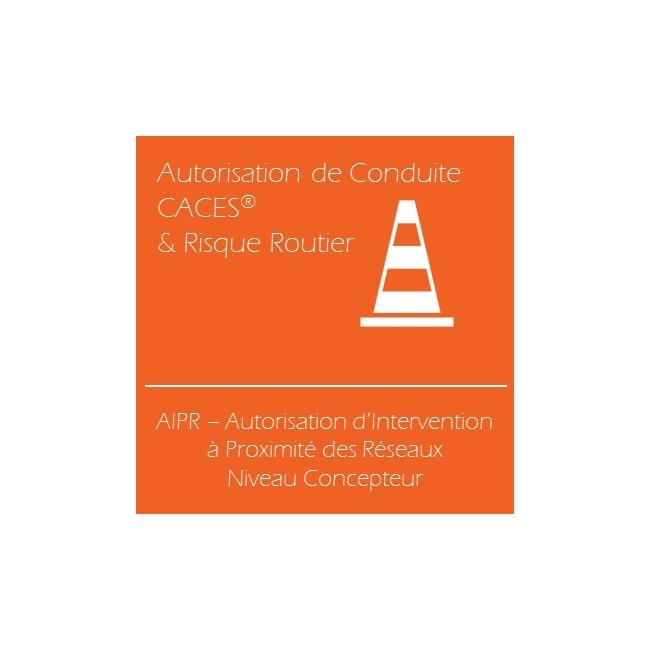 AIPR, Attestation d'Intervention à Proximité des Réseaux - Niveau Concepteur