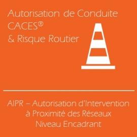 AIPR, Attestation d'Intervention à Proximité des Réseaux - Niveau Encadrant (Examen inclus)
