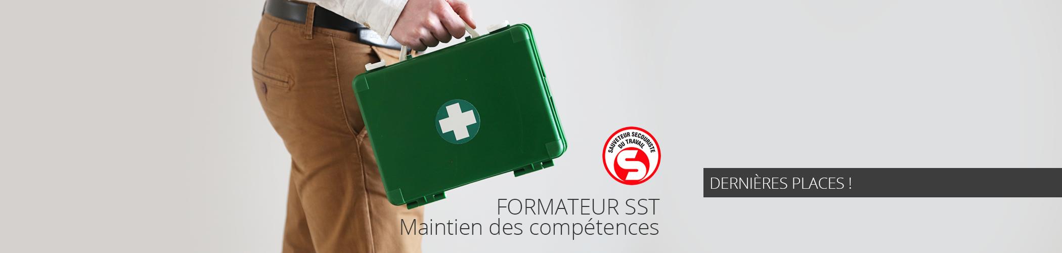nter-entreprises - Formation de Formateur SST MAC du 4 au 6 juillet à Paris