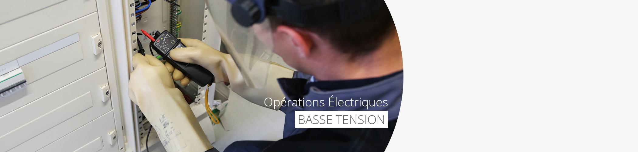 Recyclage opérations électriques basse tension les 29 et 30 juin 2017 à Belz